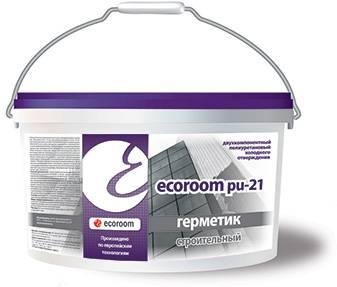 Полиуретановые герметики Ecoroom